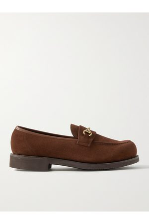 GEORGE CLEVERLEY Colony Full-Grain Suede Loafers