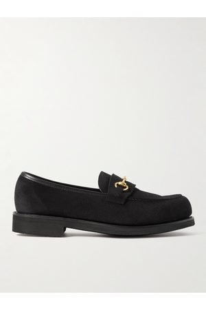 GEORGE CLEVERLEY Men Loafers - Colony Full-Grain Suede Loafers