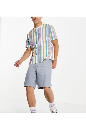 New Look Men Shorts - Loose fit twill shorts in