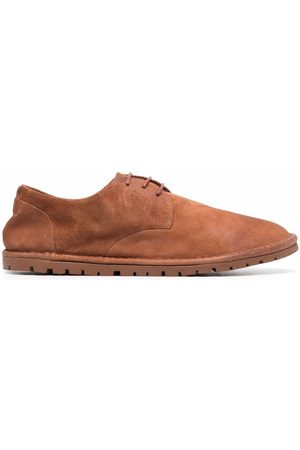 Marsèll Round-toe suede lace-up shoes
