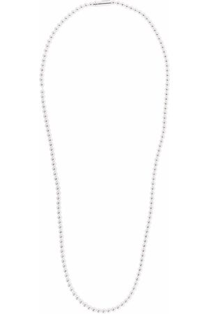 Le Gramme 73g polished beaded necklace