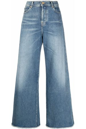 7 for all Mankind Women Bootcut & Flares - High-rise flared jeans