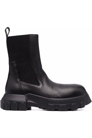 Rick Owens Beatle Bozo Tractor ankle boots