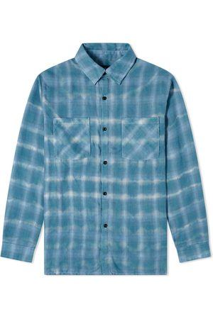 The Other Faded Check Flannel Shirt