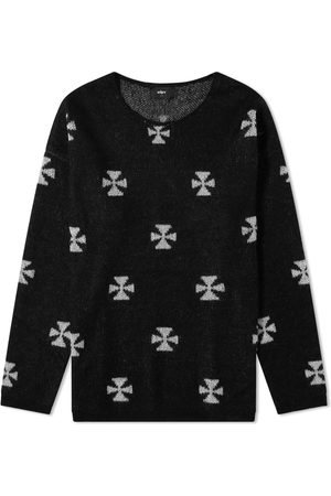 The Other Iron Cross Crew Knit