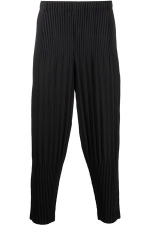 HOMME PLISSÉ ISSEY MIYAKE Tapered plissé trousers