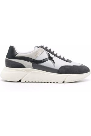 Axel Arigato Suede-panelled low-top sneakers