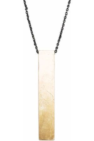 PARTS OF FOUR Wedge pendant necklace