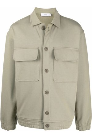 Closed Button-down organic cotton jacket