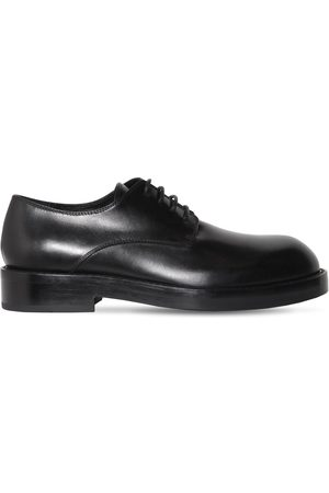 ANN DEMEULEMEESTER Oliver Leather Derby Lace-up Shoes