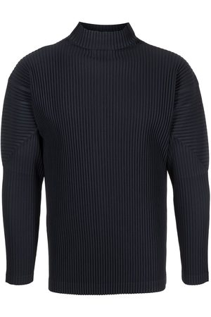 HOMME PLISSÉ ISSEY MIYAKE Pleated roll neck jumper