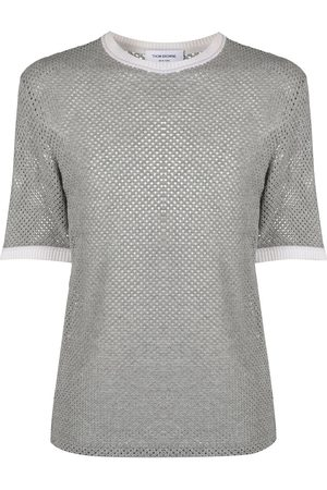 Thom Browne Knitted cashmere T-shirt