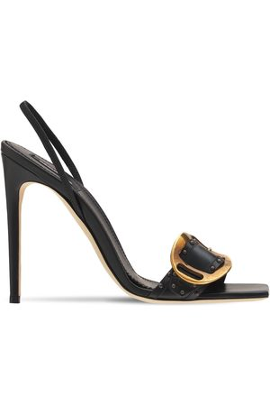 Dsquared2 110mm Leather Slingback Sandals