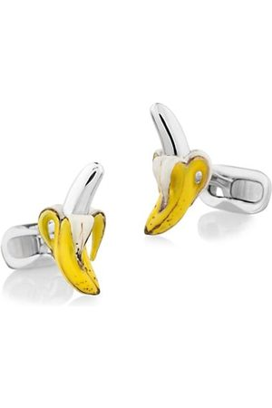 Fils Unique The Reed Banana Sterling Cufflinks