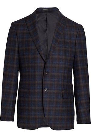Saks Fifth Avenue Two-Button Plaid Sportcoat