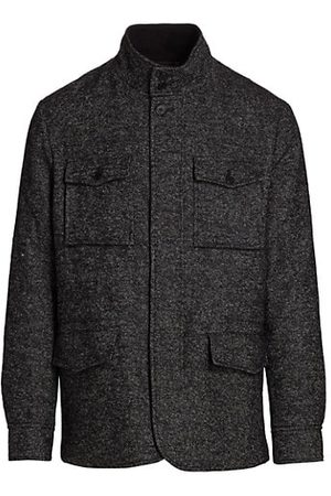 Saks Fifth Avenue COLLECTION Tweed Four-Pocket Jacket