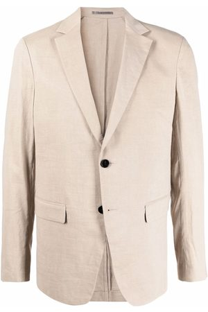 THEORY Men Blazers - Fitted single-breasted blazer