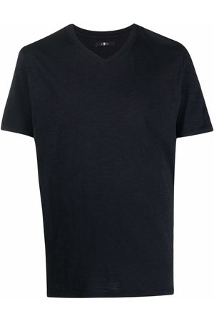 7 for all Mankind V-neck cotton T-shirt