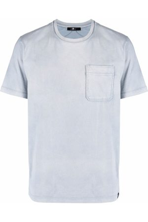 7 for all Mankind Chest-pocket cotton T-shirt