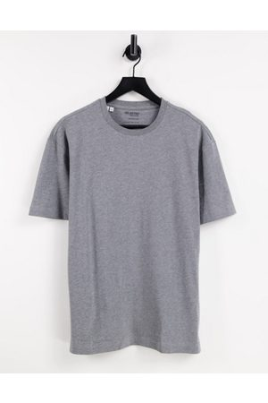 SELECTED Oversized t-shirt in charcoal