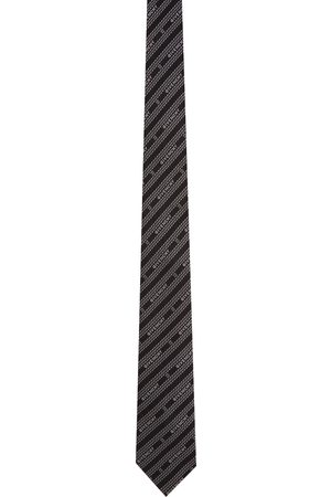 Givenchy & White Chain Degrade Blade Neck Tie