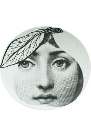 FORNASETTI Accessories - Pear-shaped face print plate