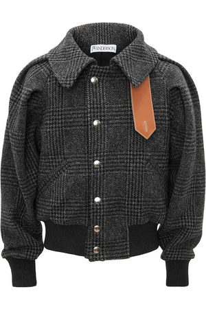 J.W.Anderson Men Bomber Jackets - RUCHED SLEEVE BOMBER