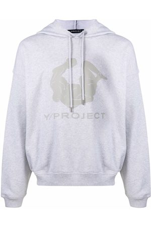 Y / PROJECT Logo-print cotton hoodie