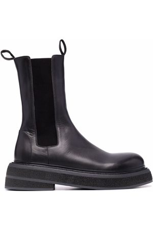 MARSÈLL Men Ankle Boots - Chunky leather Chelsea boots