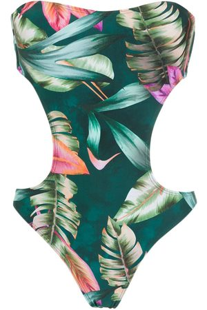 Lygia & Nanny Women Swimming Costumes - Taylor cut-out swimsuit
