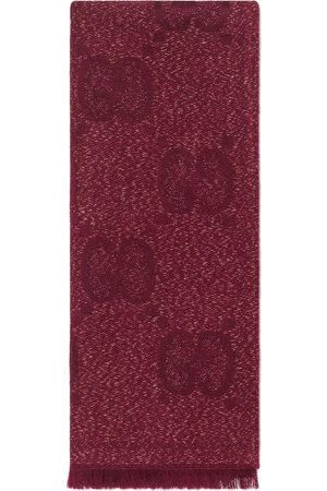 Gucci Men Scarves - GG jacquard knitted scarf