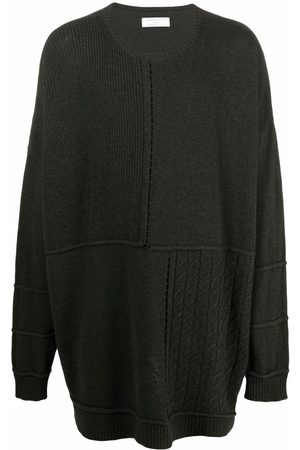 SOCIÉTÉ ANONYME Jumpers - Patchwork panelled knitted jumper