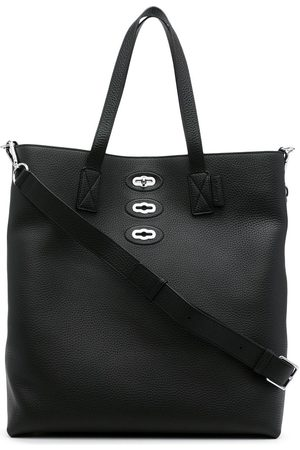 MULBERRY Men Bags - Pebble-leather twist-lock tote