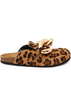 J.W.Anderson MEN'S CHAIN LOAFER - ANIMAL PRINT