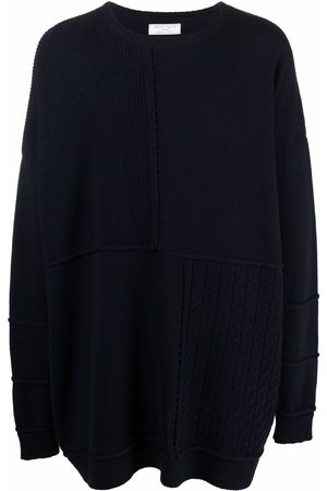 SOCIÉTÉ ANONYME Patchwork panelled knitted jumper