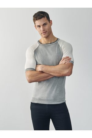 MrQuintessential Dean Silk and Cashmere T Shirt - Cream and