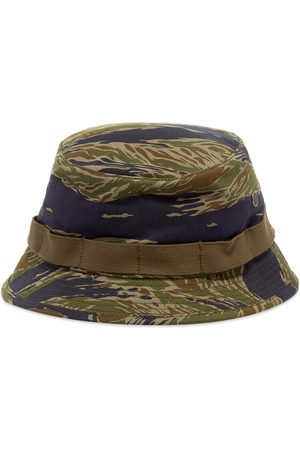 The Real McCoys Men Hats - The Real McCoy's Tiger Camourflage Boonie Hat