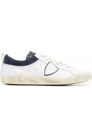 Philippe model MEN'S PRLUVED2 LEATHER SNEAKERS