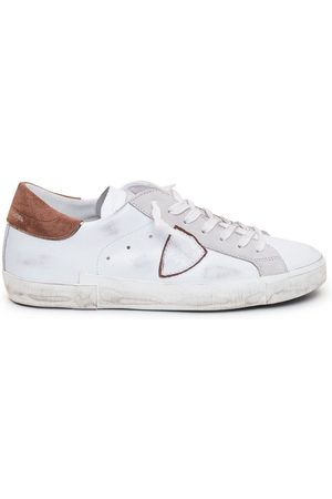 Philippe model MEN'S PRLUVX23 LEATHER SNEAKERS