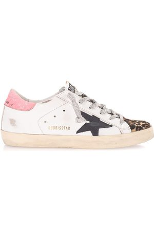Golden Goose WOMEN'S GWF00101F00189710725 LEATHER SNEAKERS