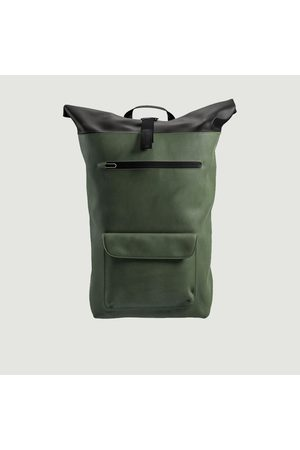 Brooks Brothers Rivington cotton backpack 18 L FOREST