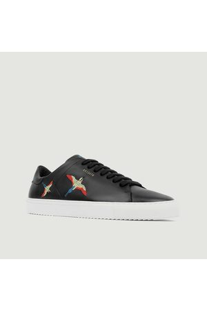 Axel Arigato Men Sneakers - Clean 90 leather sneakers with embroidered birds