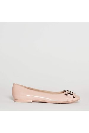 Tod's Dancer In Powder Paint With Matching Chain
