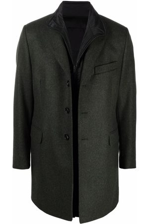 FAY Single-breasted fitted coat