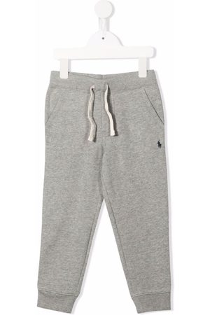 Ralph Lauren Kids Logo embroidered track trousers
