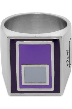 A-cold-wall* Men Rings - Vertical Ring