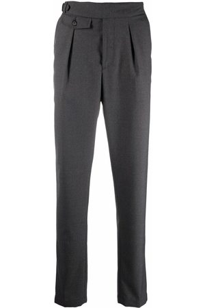 Eleventy High-waisted tapered trousers