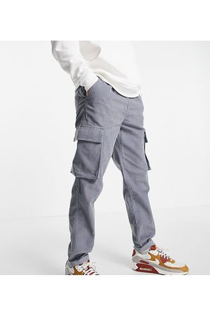 New Look Cord cargos with elastic waist in