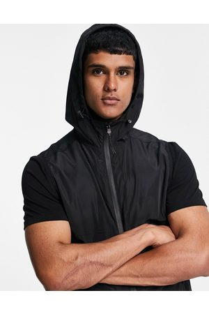 River Island Hooded gilet in