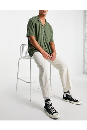 Selected Homme Linen trousers loose fit